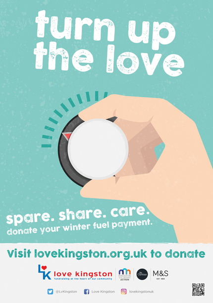 Turn up the love - Winter fuel campaign
